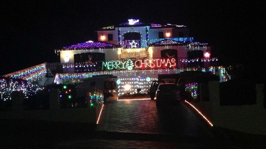 Article heading image for The BEST Christmas Lights around Esperance!