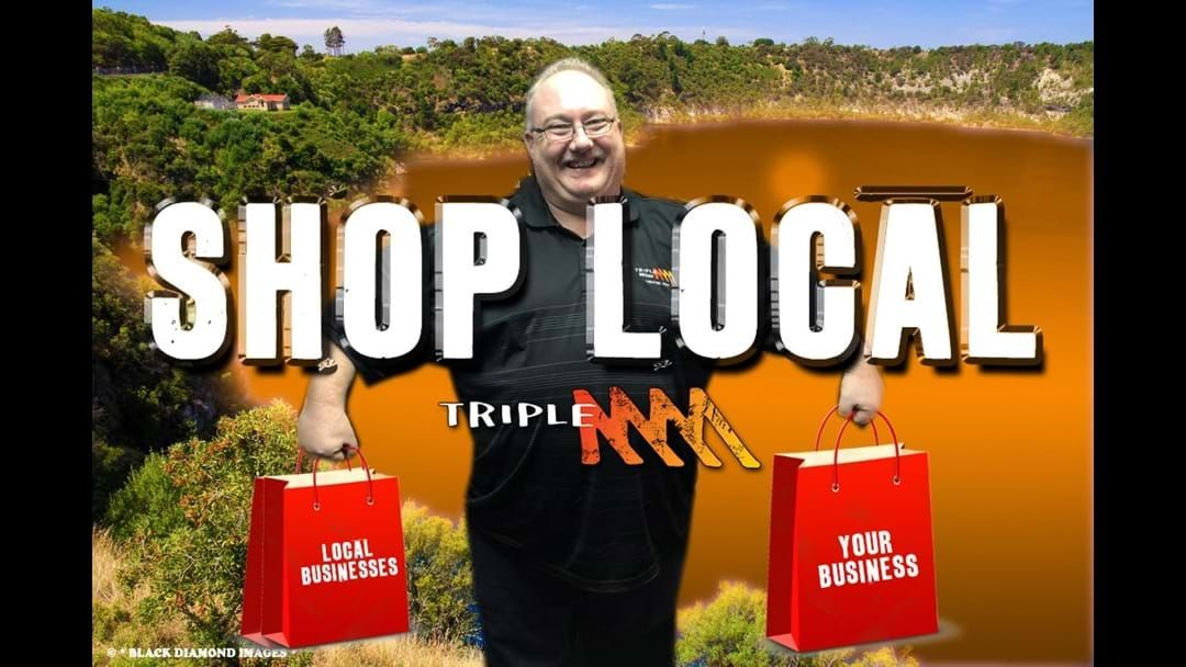 """Article heading image for Forget """"Click N Collect""""….. Shop local & support local businesses that employ locals."""