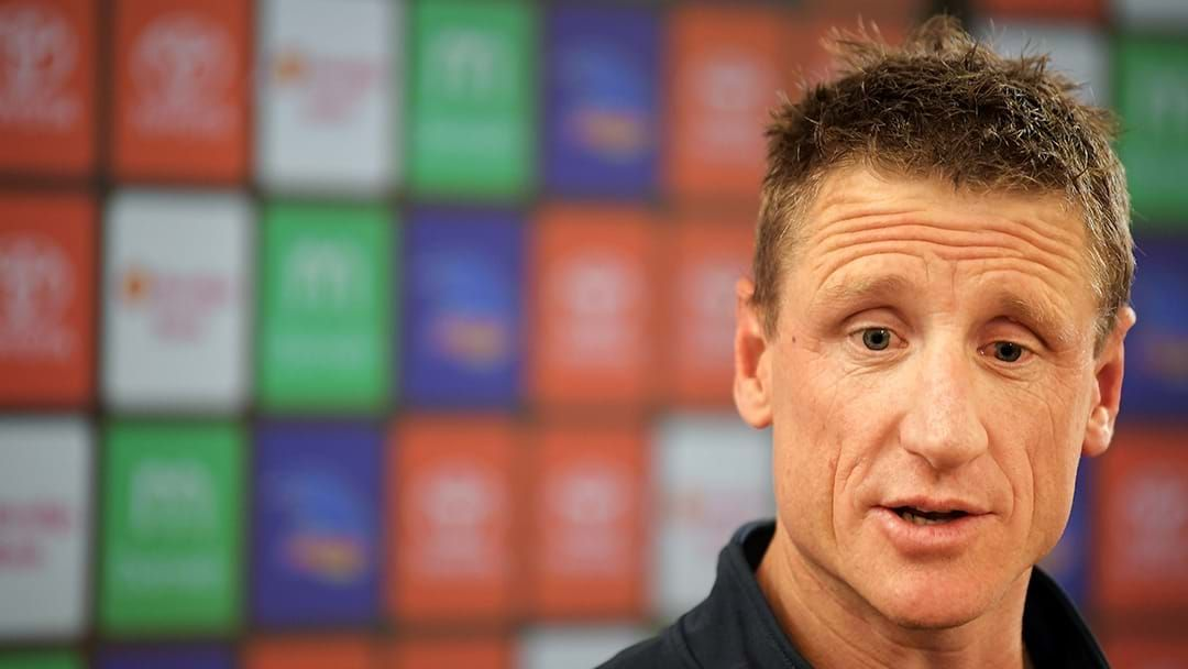 """Article heading image for Tom Browne Says That Adelaide Footy Boss Brett Burton Is """"Under Significant Pressure"""""""