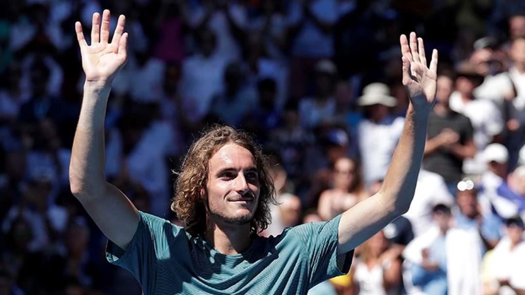 Article heading image for Stefanos Tsitsipas Is The Youngest Bloke Since Novak Djokovic To Make A Grand Slam Semi-Final