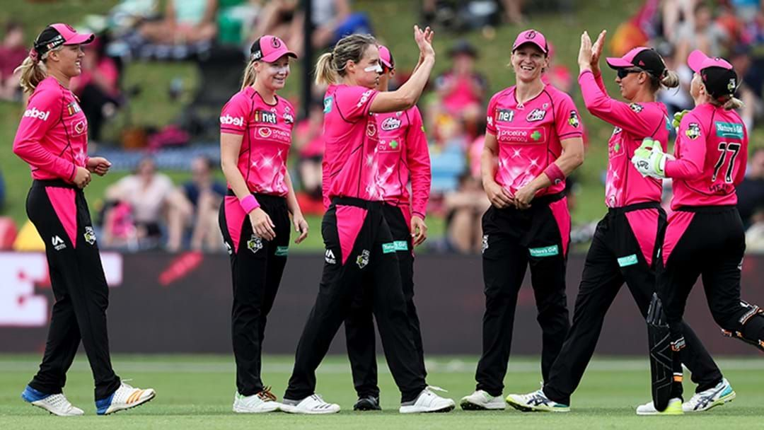 Article heading image for Sydney Sixers Win WBBL Semi Final In A Dramatic Super Over