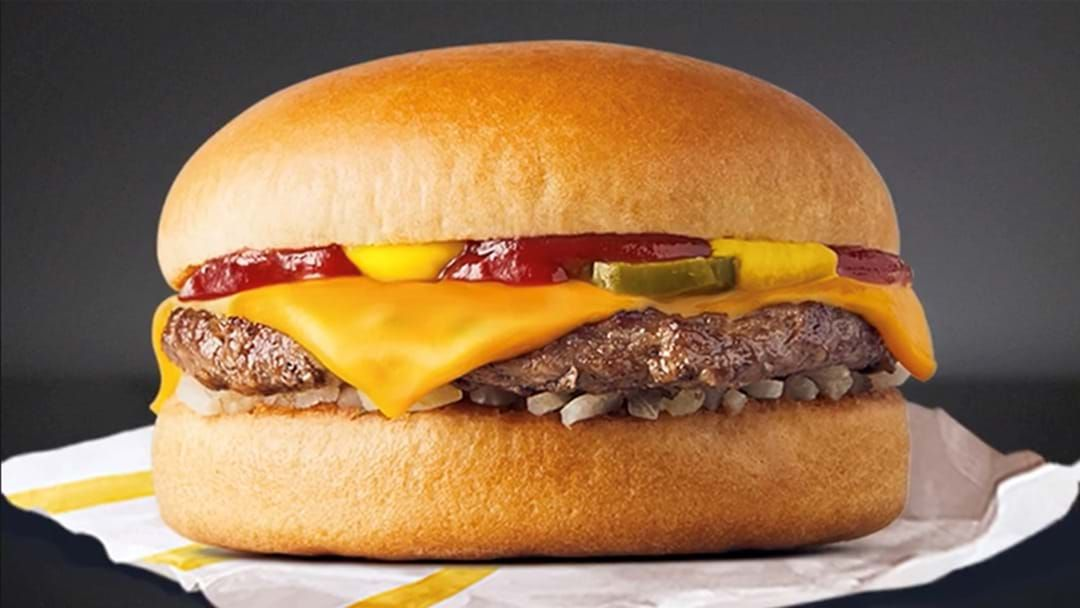 Article heading image for Macca's Has Dropped $1 Cheeseburgers For International Cheeseburger Day Today