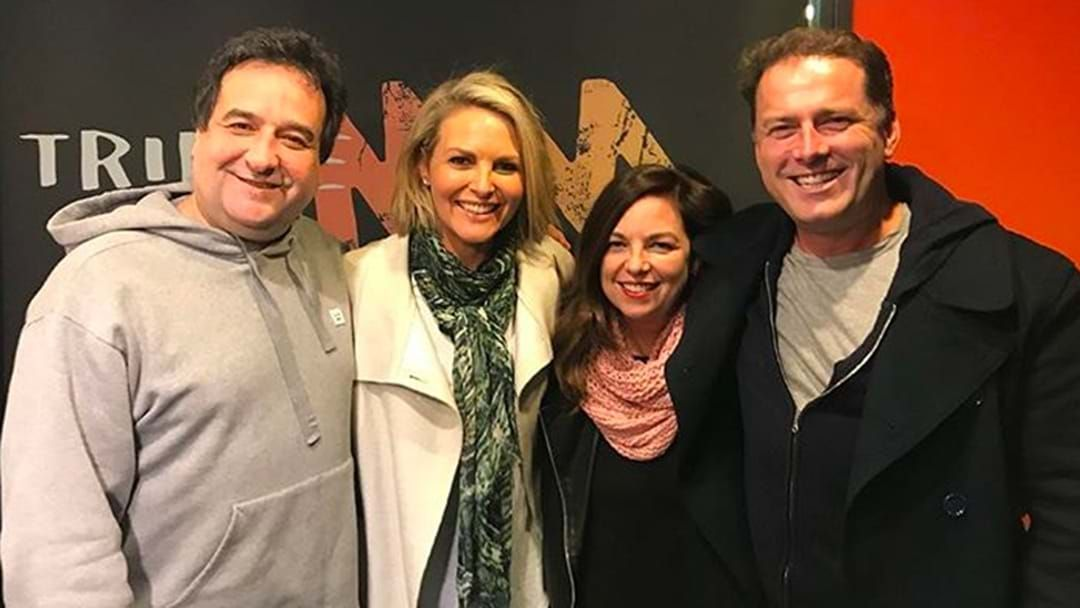 Article heading image for LISTEN | Karl Stefanovic Cops It From Georgie Gardner About Drinking
