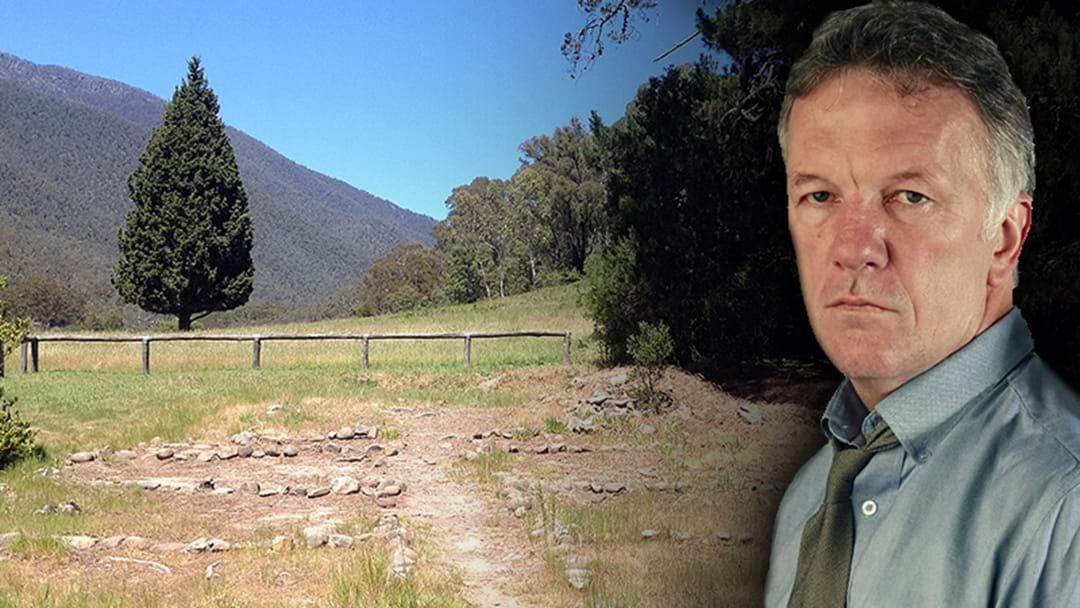 "Article heading image for Crime Writer Andrew Rule Gives Some Details On The Mystery ""Button Man"" In The Victorian High Country"