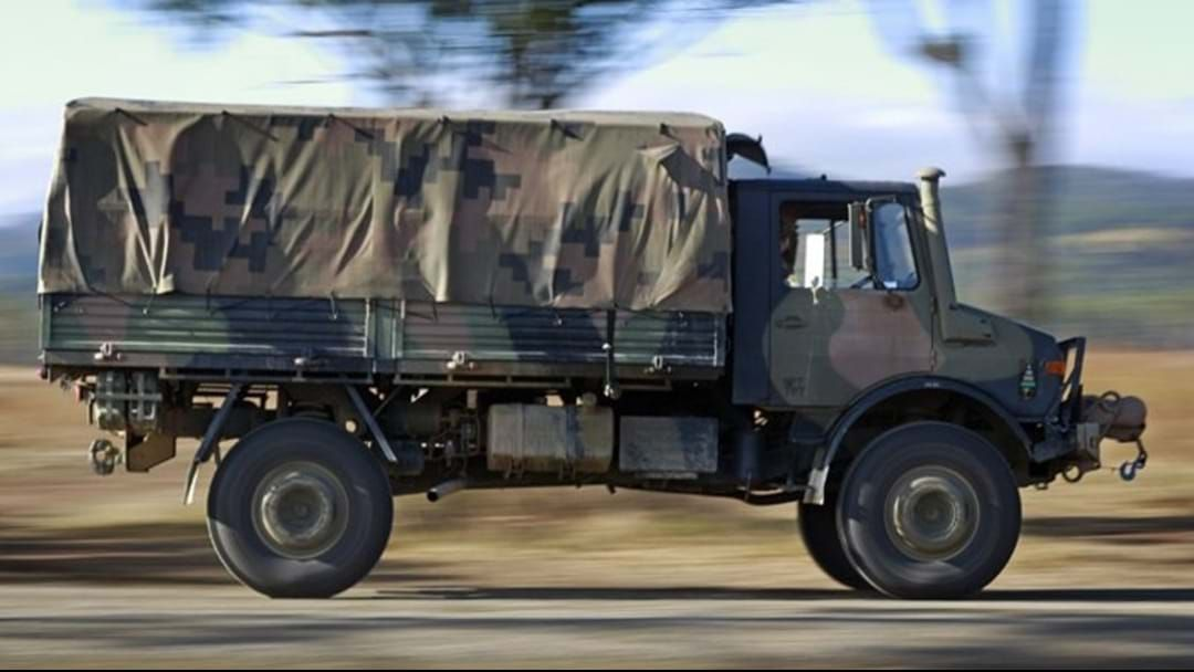 Article heading image for ADF Exercise Taking To The Roads