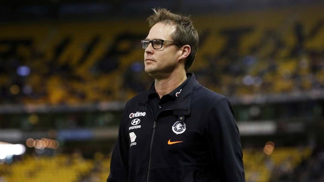 Article heading image for Carlton Will Reportedly Appoint David Teague As Head Coach Tomorrow