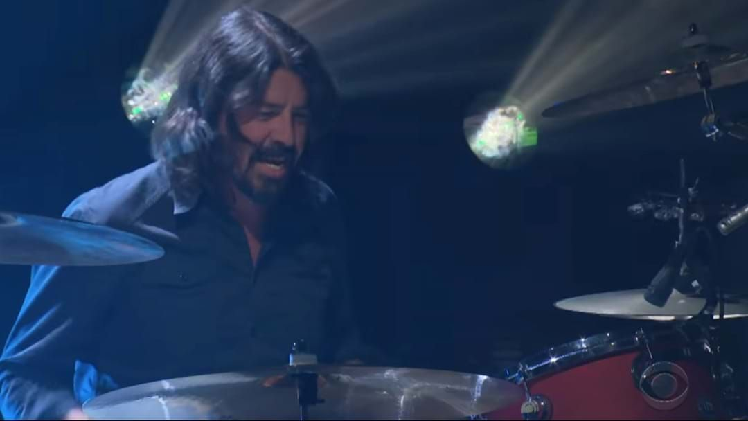 Article heading image for Dave Grohl Is Back Behind The Drum Kit For A Van Halen Tribute