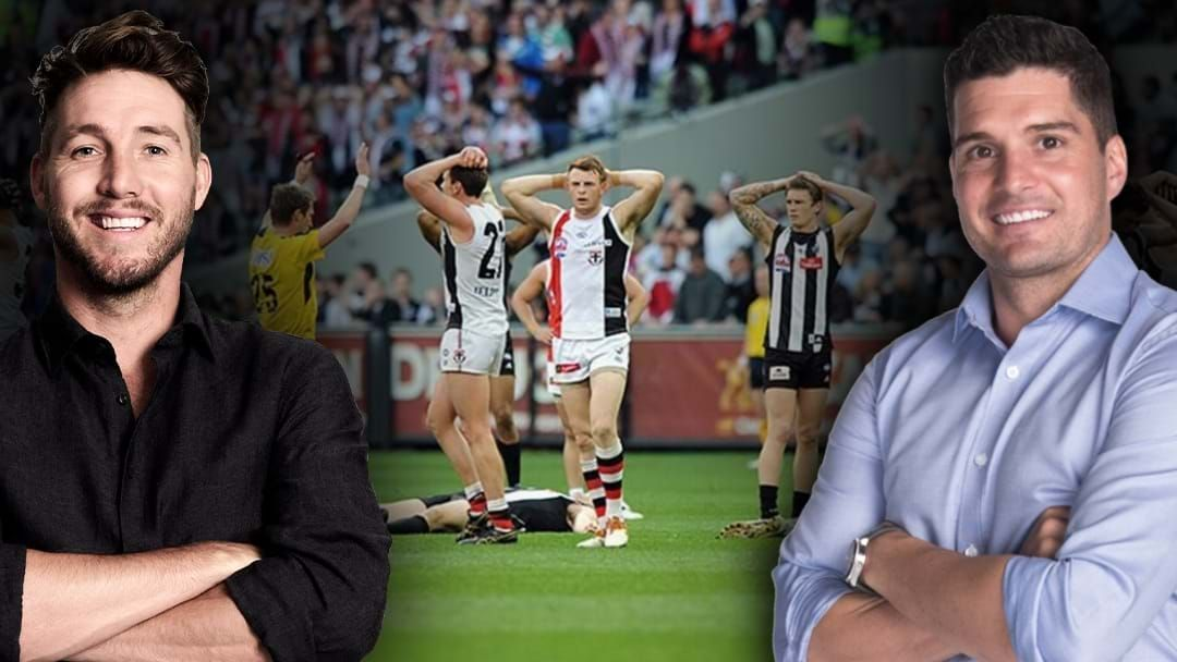 Article heading image for Dale Thomas & Leigh Montagna Relive The 2010 Drawn Grand Final
