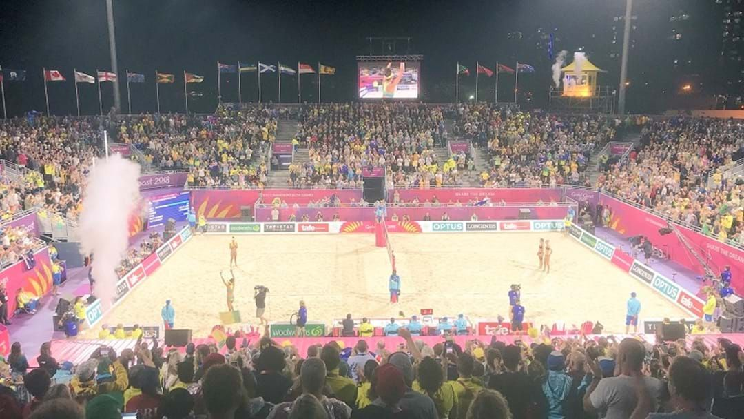 Article heading image for Calls For Beach Volleyball Stadium To Stay