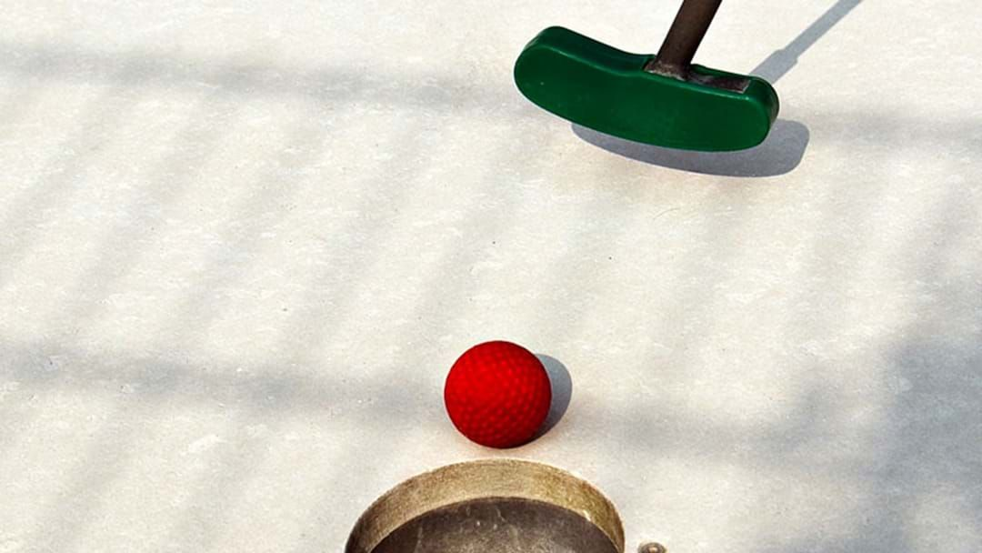 Article heading image for There's A Disney-Pixar Themed Mini-Golf Course Coming To Melbourne In January