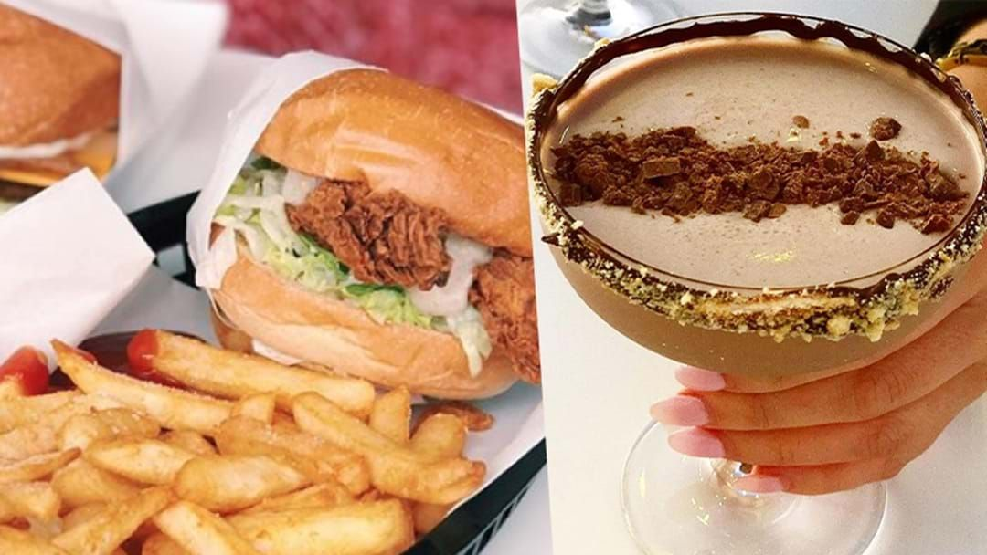 Article heading image for Australia's First Ever Vegan Fried Chicken Shop Is Opening This Weekend & Yes, There's A Cocktail Bar!