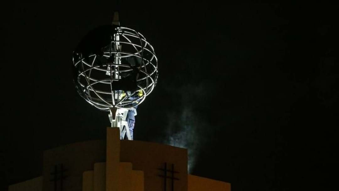 Article heading image for Landmark Occasion As Albury Globe Building Restores Signature Element