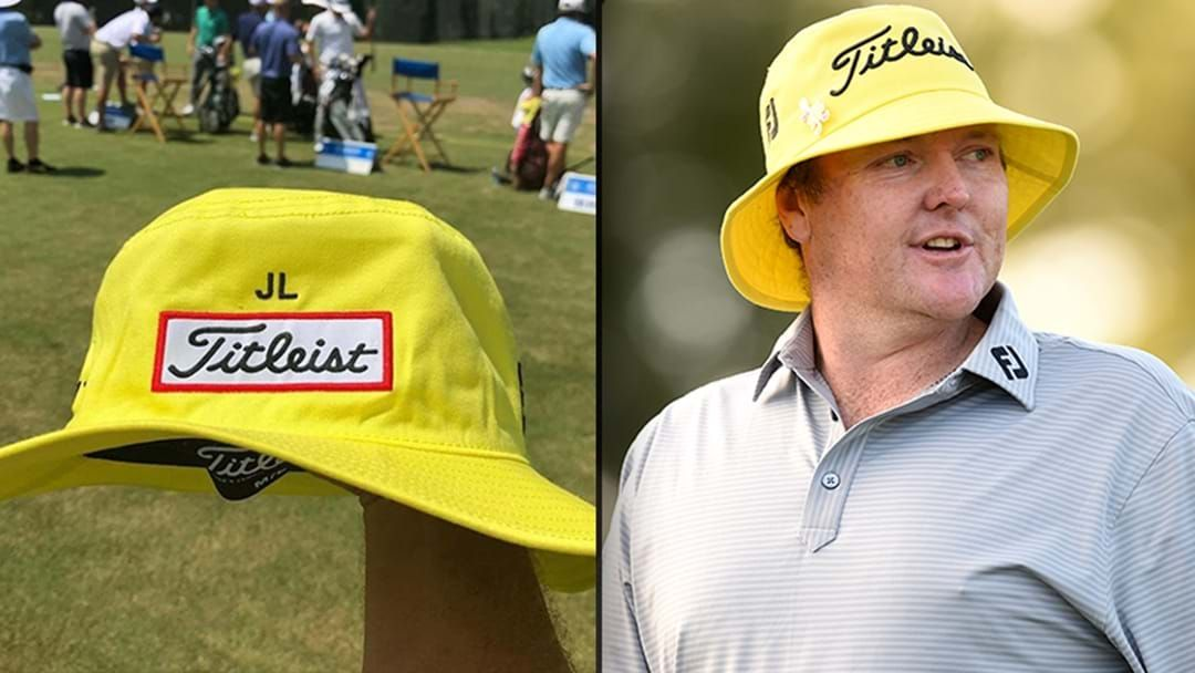 Golfers Are Paying Tribute To Jarrod Lyle With Yellow Caps And Bucket Hats 20005f258a6