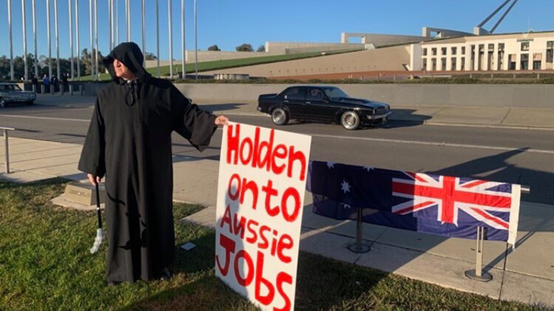 Article heading image for Bob Katter Showed Up To Parliament House As The Grim Reaper This Morning  In Protest