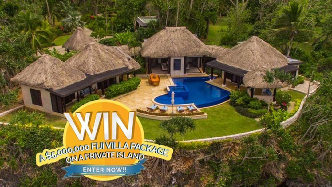 Article heading image for Five Luxury Villas Worth $6.3 Million Are Up For Grabs For Just $25!