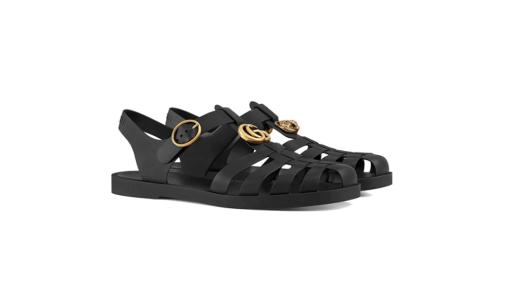 3a1decc8e Article heading image for Gucci Made Jelly Sandals Popular Again & We NEED  A Pair Now