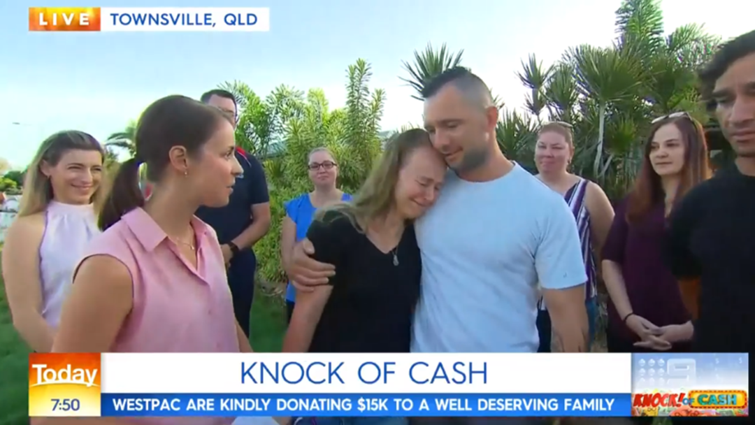 Article heading image for Townsville Family Given $15K On National TV This Morning