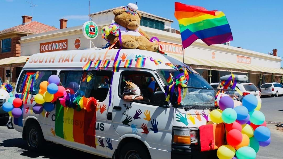 Article heading image for LGBTI Health Comes First At Hay Mardi Gras