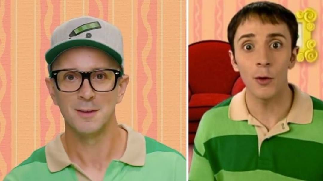 Article heading image for Steve From Blues Clues Just Made An Anniversary Video For All Of Us Nostalgic Millennials