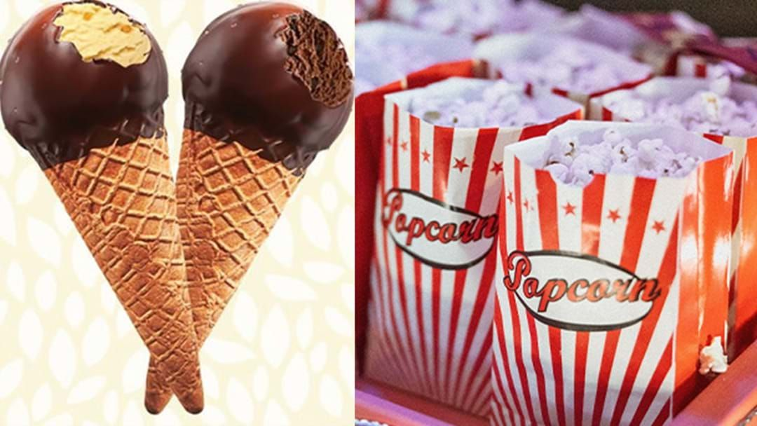 Article heading image for Create Your Own Cinema At Home With This Choc Top & Popcorn Take Away Service!