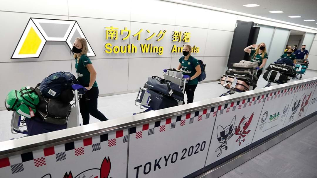 Article heading image for First Aussie Sporting Team Land In Japan Ahead of Games