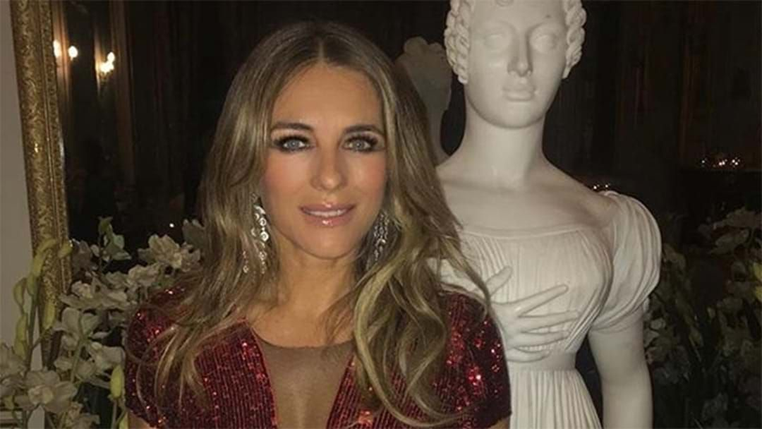 Article heading image for Liz Hurley's Teenage Son Looks Exactly Like His Famous Mum