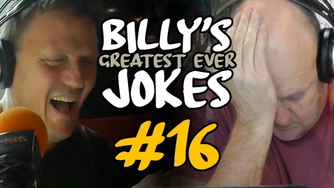 """Article heading image for BILLY'S GREATEST JOKES EVER 