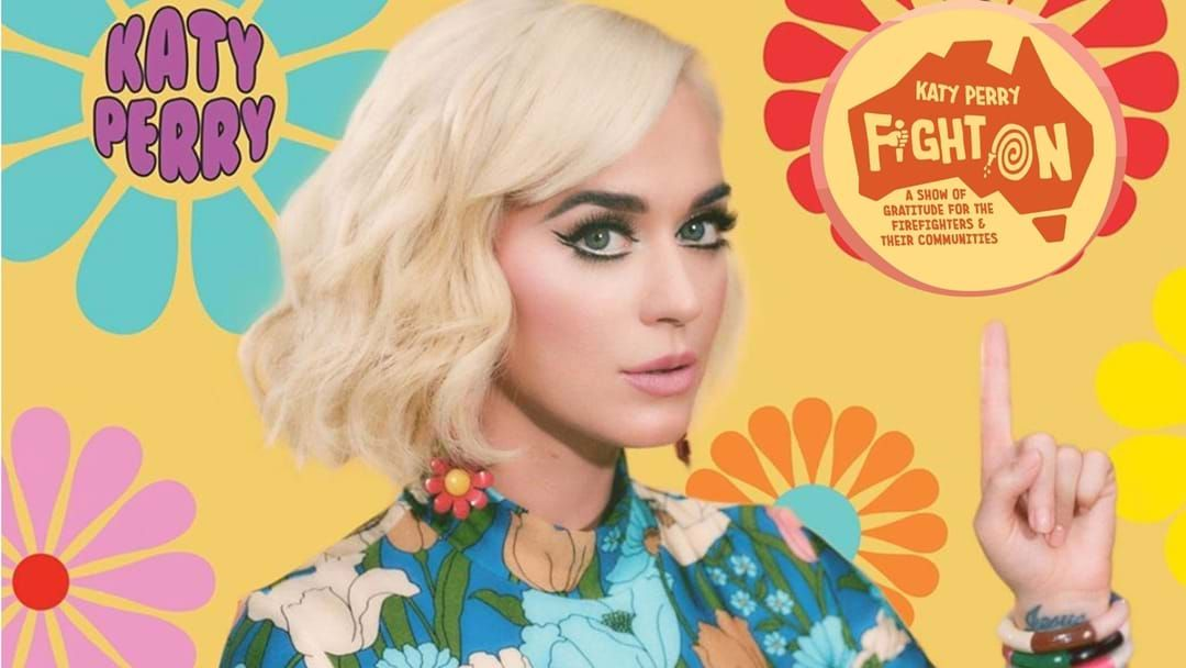 Article heading image for Katy Perry Announces Concert To Give Back To Victims Of Aussie Bushfires