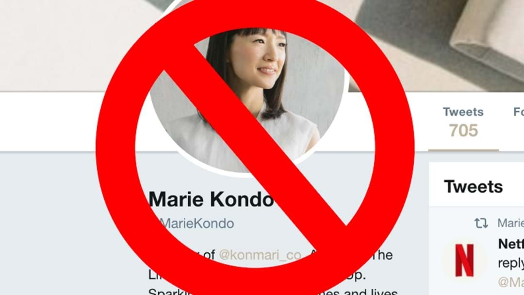 Article heading image for We Think We've Found The Two People In Perth Who Don't Like Marie Kondo's Way Of Thinking