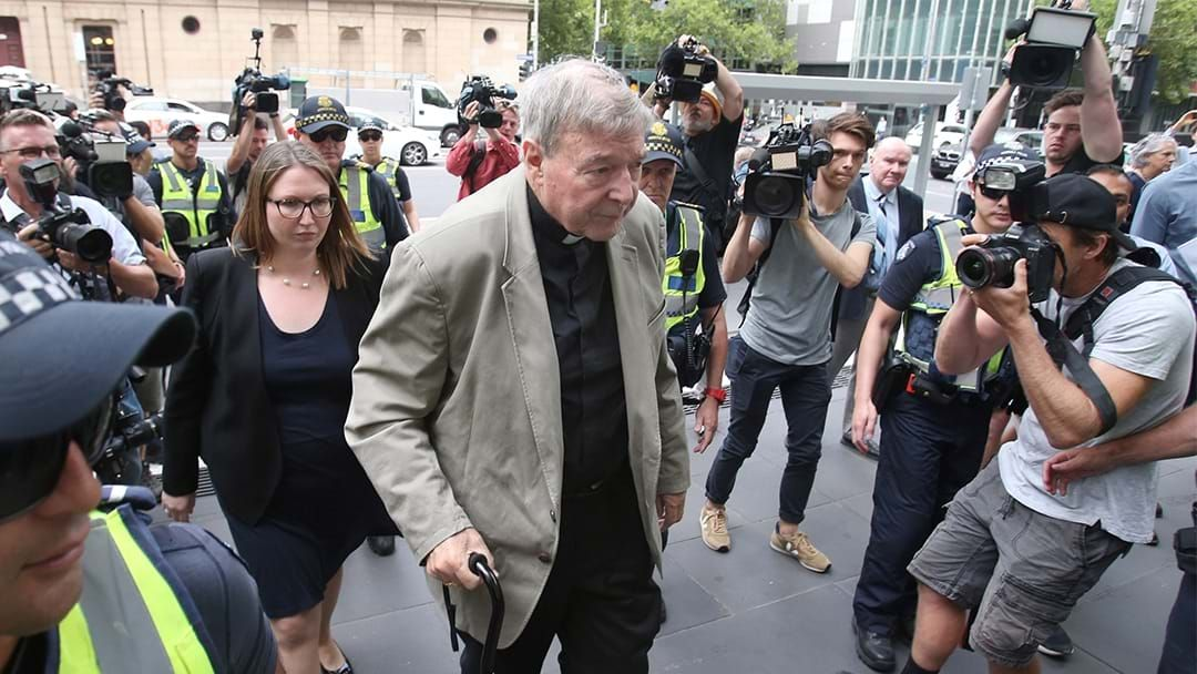 Article heading image for BREAKING: George Pell Convicted On Five Counts Of Child Sex Abuse