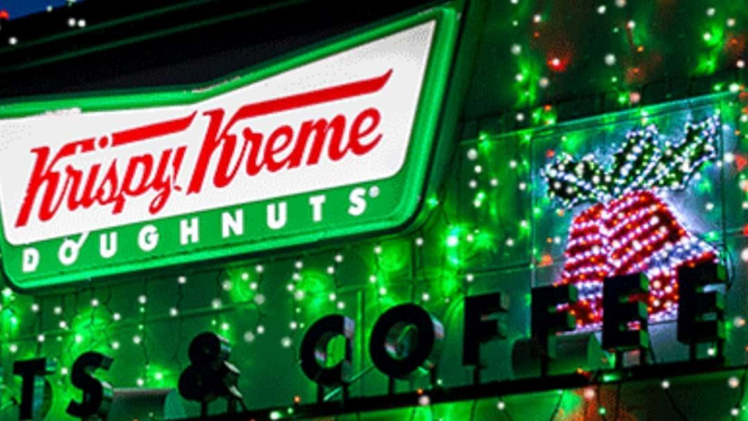 Article heading image for Krispy Kreme Myaree Are Lighting Up Christmas And Helping Out The RSPCA This Friday
