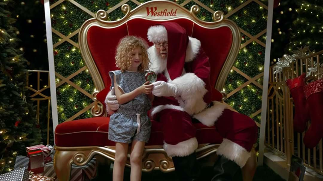 Article heading image for Westfield Is Offering 'Sensitive Santa' Photo Sessions For Children With Sensory Challenges