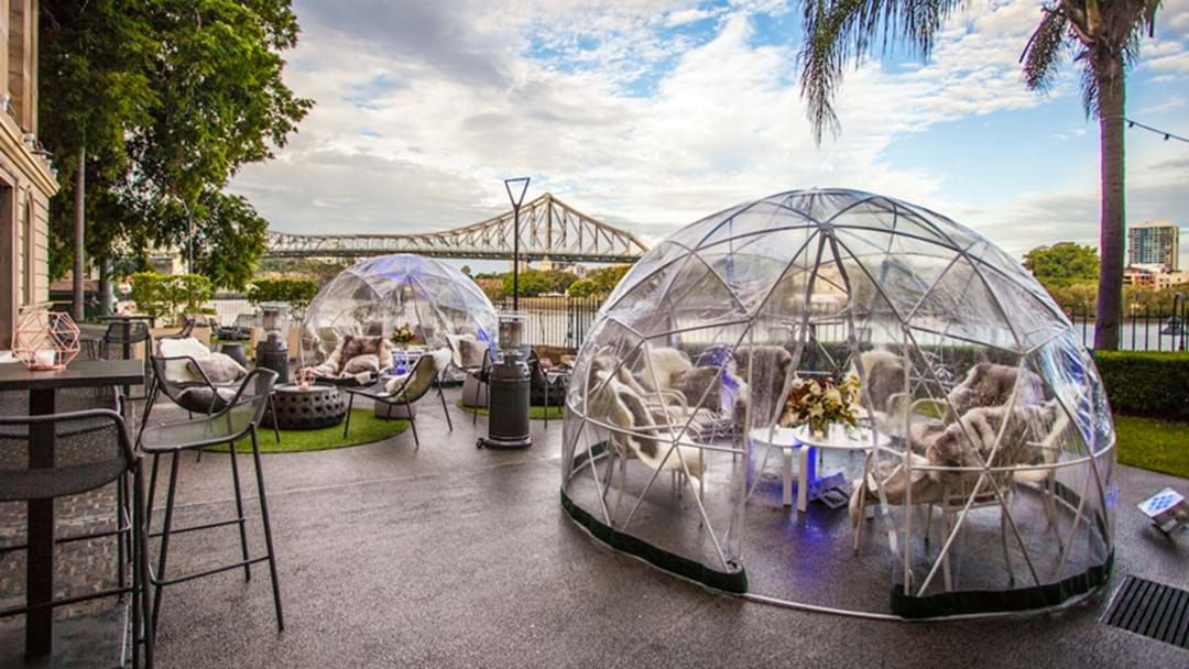 Article heading image for Brisbane: Those Cute Igloo Pop Up Bars Are Back For Winter!