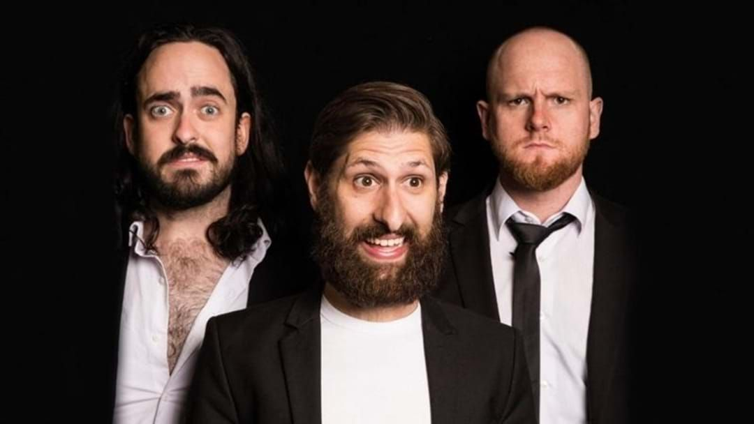 Article heading image for Aunty Donna's Broden Kelly Tells Us How They Landed Their Very Own Netflix Special