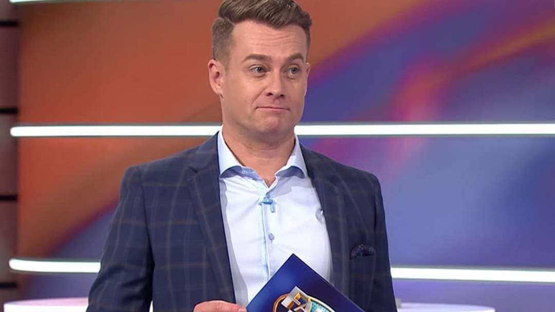 Article heading image for Grant Denyer REVEALS the intelligent celebrity who failed at Family Feud