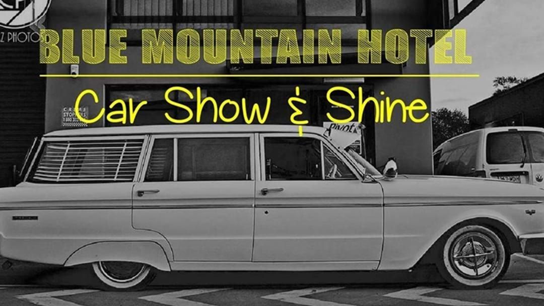 Article heading image for Blue Mountain Hotel Car Show & Shine