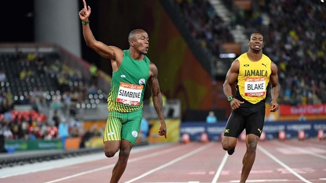 Article heading image for BOILOVER: South African Power Pair Stun Yohan Blake In The 100m Sprint
