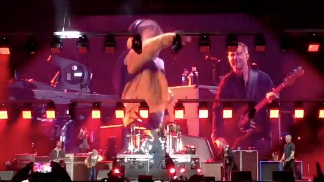 Article heading image for Foo Fighters Get Shown Up By 5 Year Old Fan Who Storms The Stage