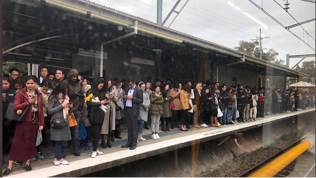 Article heading image for Commuter Chaos Caused By Train Breakdown At Town Hall