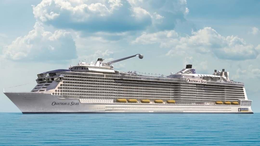 Article heading image for $1 Billion Ovation Of The Seas Docks In Brisbane
