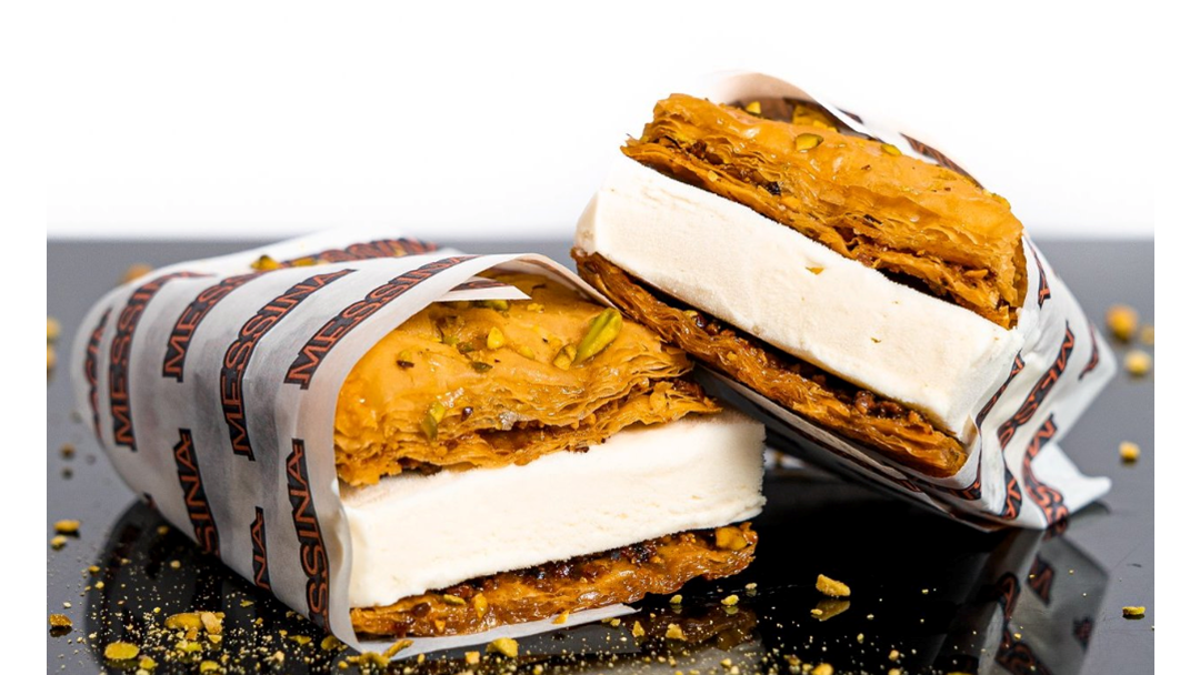 Article heading image for Messina Are Releasing One-Day-Only Baklava Ice-Cream Sangas In Brisbane!