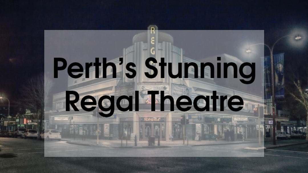 Article heading image for Perth Photographer Shares Stunningly Eerie Shot Of Regal Theatre