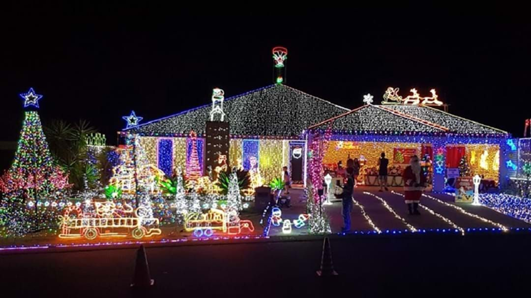 Article heading image for REVEALED: The Very Best Xmas Light Displays In Perth