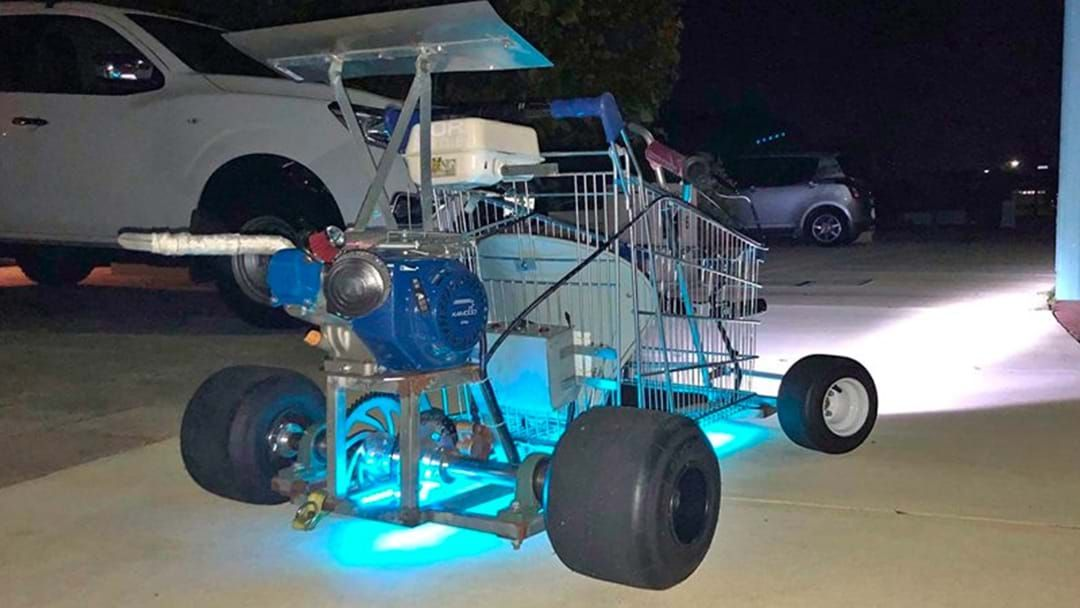 Article heading image for Perth Bloke Selling A Souped Up Shopping Trolley That Is, Frankly, Full Sick!