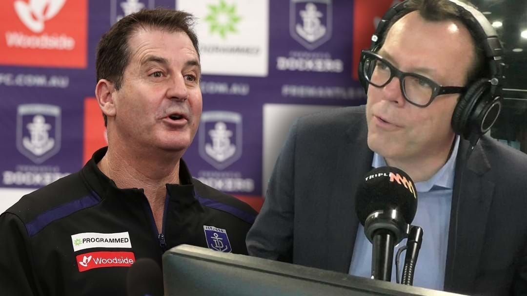 Article heading image for Chief Goes In To Bat For Damo After His Report On Ross Lyon