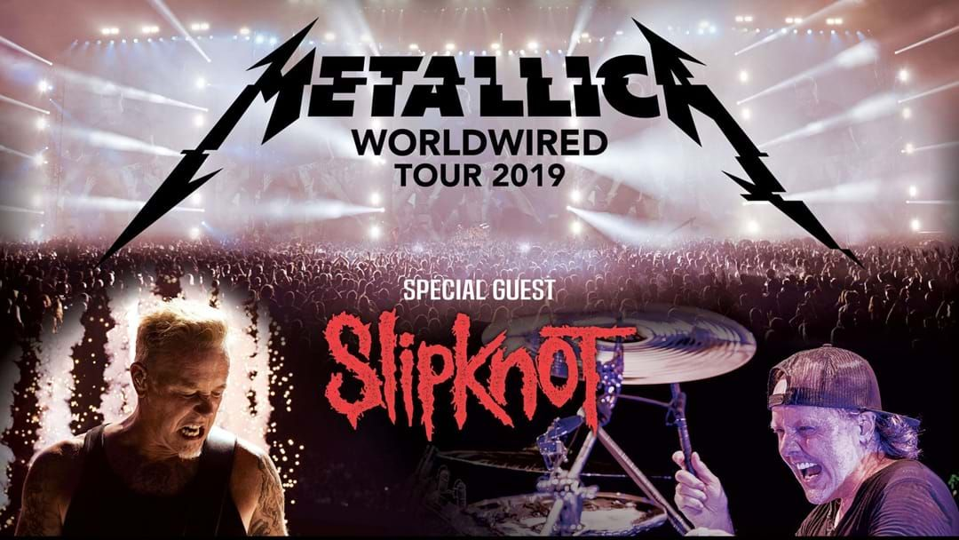 Article heading image for Metallica Announce Australian Dates On WorldWired Tour