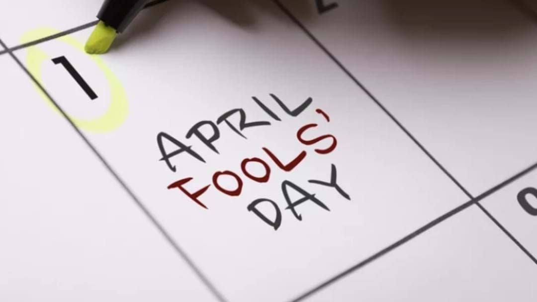 Article heading image for Sean Shares The Pranks The Fooled Him This April Fools Day