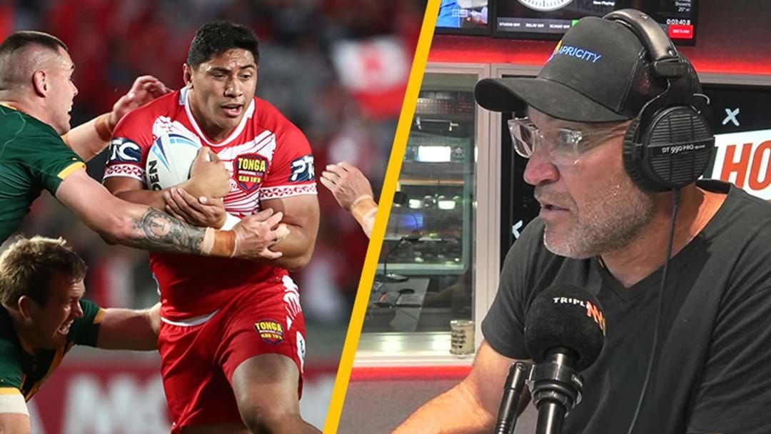 Article heading image for Why Gordie Says 'No' to Taumalolo Playing Origin