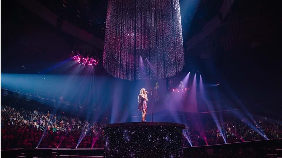 "Article heading image for Carrie Underwood Launches Her ""Cry Pretty Tour 360"" With Sold Out Show"