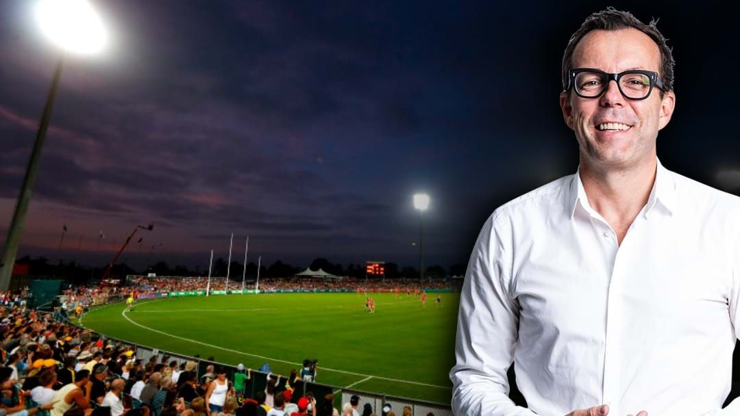 Article heading image for Barrett: Cairns & NT Set To Host AFL Games